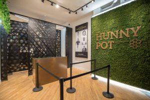 Reception Area at The Hunny Pot Cannabis Dispensary in Toronto