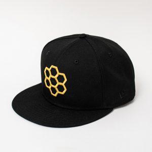 Black & Gold Hat - The Hunny Pot Branded Merch