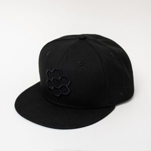 Black Logo Hat - The Hunny Pot Branded Merch