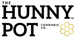 The Hunny Pot Cannabis Co. Logo Black