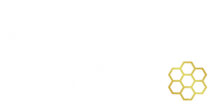 The Hunny Pot Cannabis Co. Stacked Logo