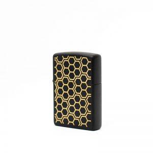 Pattern Zippo Lighter - The Hunny Pot Branded Merch