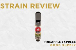 Good Supply - Pineapple Express 510 Cannabis Concentrate Vaporizer Cartridge