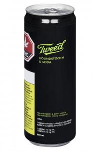 Tweed Houndstooth & Soda: Cannabis-Infused THC Beverage
