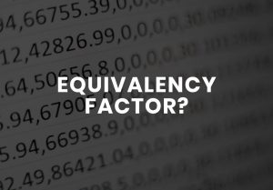 Equivalency Factor